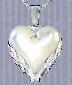 Angel Wings Pendant Urn