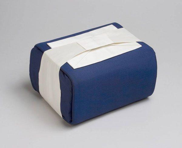 Dark Blue Ceremonial Wrap Urn