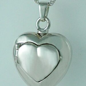Silver Double Locket Urn
