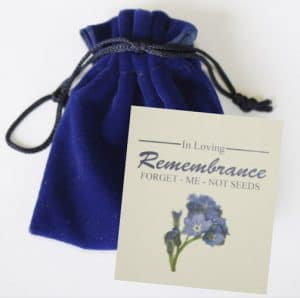 Forget me not Seed Packets