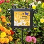 Personalized Celebration of Life Garden Marker