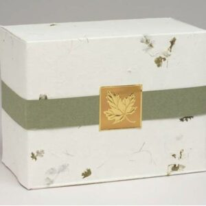 Handmade Paper Urn