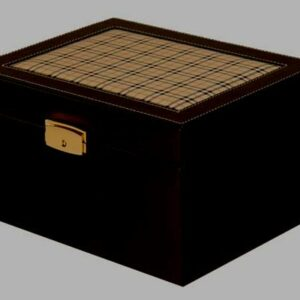 Leather Burberry Urn