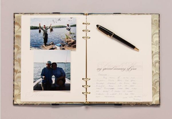 Inside Life Celebration Book with My Special Memory of You share cards