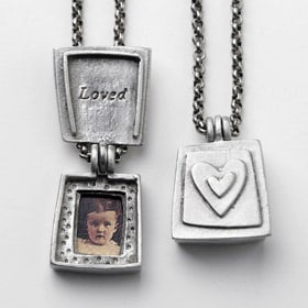 Loved Locket Necklace