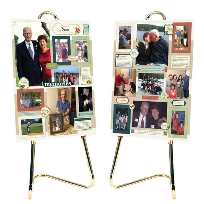 Memorial Boards kit Photo Collage Kit