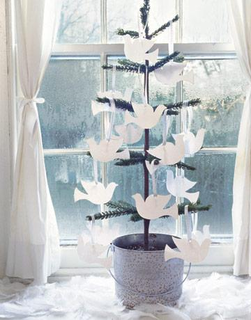 Dove Cards on a Tree