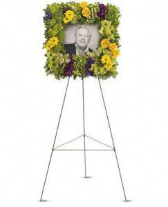 Photo flower arrangement