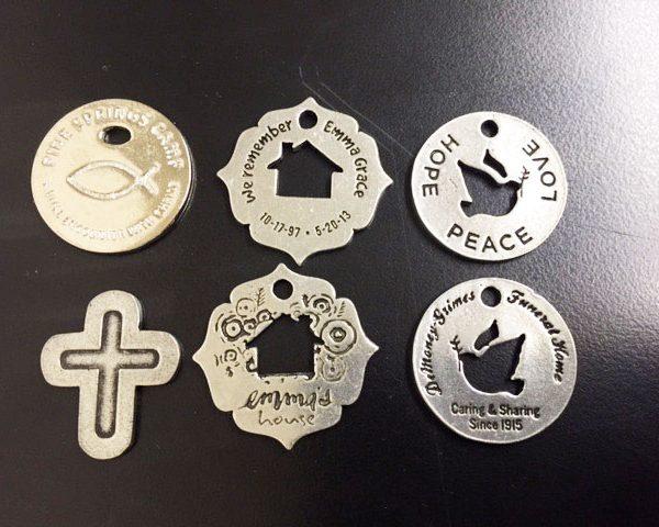 Examples of Custom Designed Memorial Rings