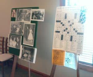 Crossword Memory Boards