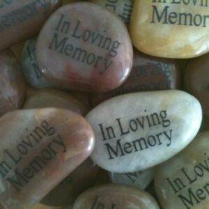 Memorial Stones for Funeral
