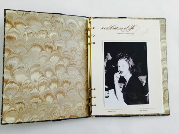 Photo of Loved One on the First Page
