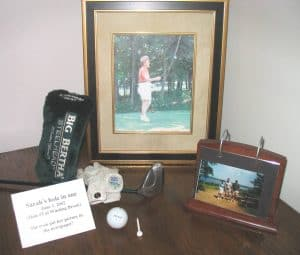 Golf Memory Table