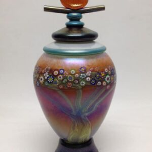 Monet Terra Glass Urn