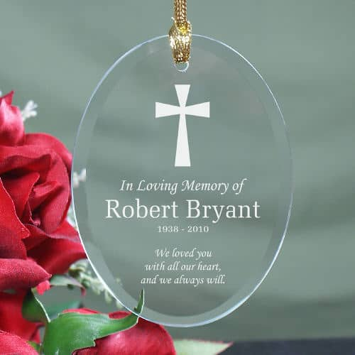 Personalized Ornament In Loving Memory