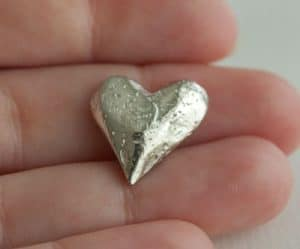 Heart Pocket Charm
