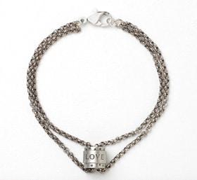 Word Bead Bracelet