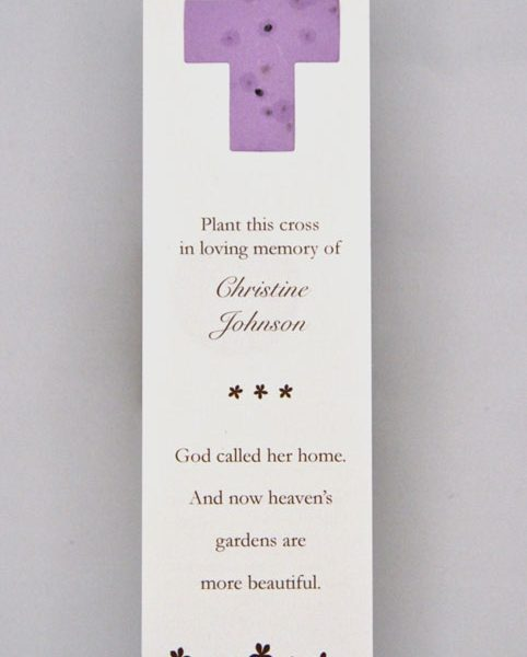 Cross Forget-me-not and Wildflower Bookmarks