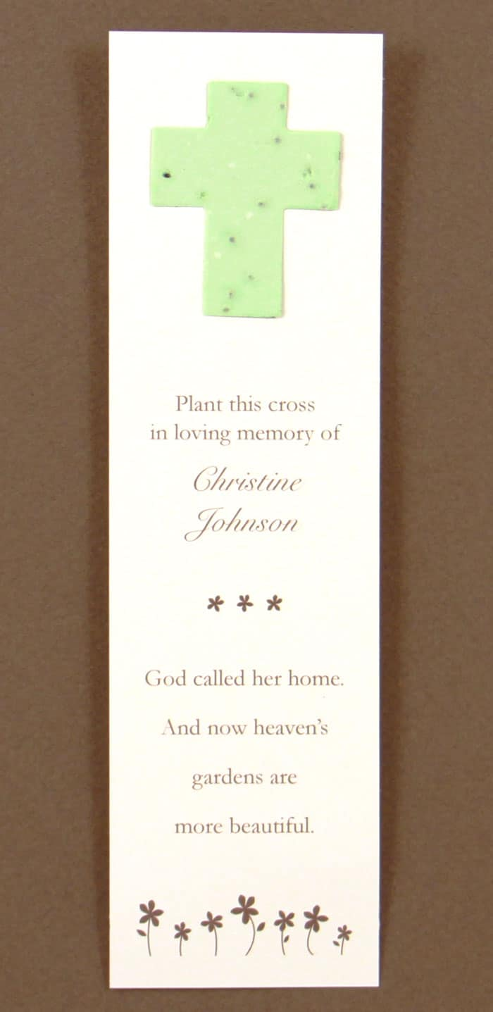 Green Cross Bookmark