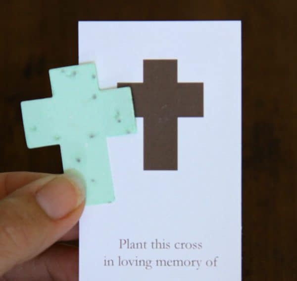 Cross Bookmark with Shape Removed