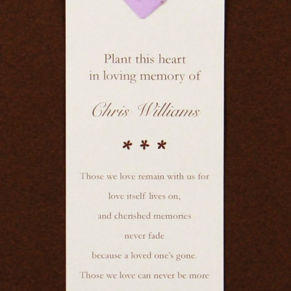 Purple Heart Bookmark