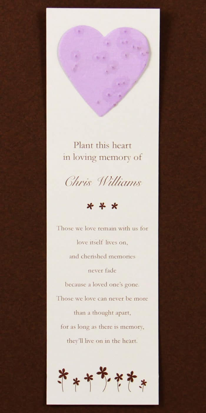 Purple Heart Bookmark
