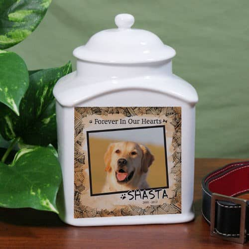 Ceramic Photo Pet Urn