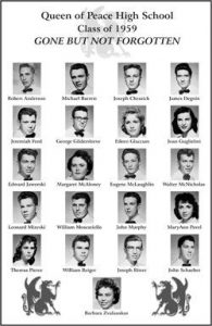 Create a Poster with the Yearbook Photos of the Departed