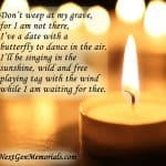 Funeral Poems, Memorial Poems