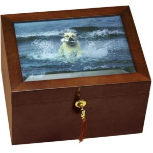 Large Size Dog Urn and Memory Box