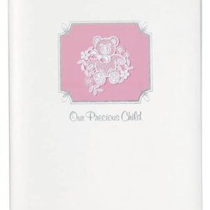 Precious Child Memorial Guest Book Pink