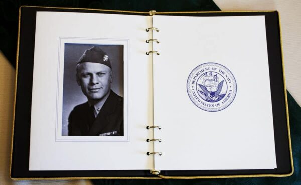 Service Book Inside Page