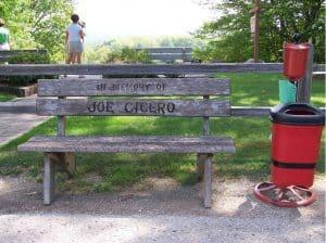 Donate a memorial bench.