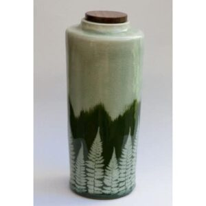 Handmade Evergreen Pet Urn