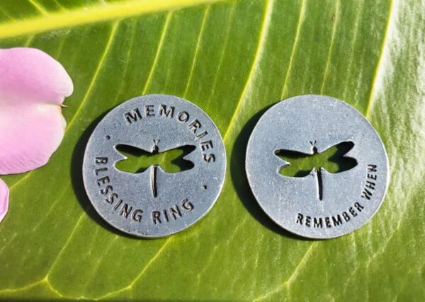 Dragonfly Memorial Coin Both Sides